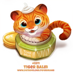 Daily Paint 2211. Tiger Balm