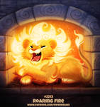 Daily Paint 2213. Roaring Fire