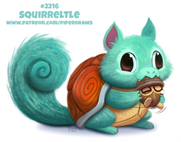 Daily Paint 2216. Squirreltle