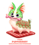 Daily Paint 2220. Puppermint