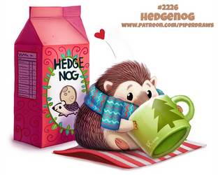 Daily Paint 2226. Hedgenog by Cryptid-Creations