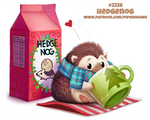 Daily Paint 2226. Hedgenog