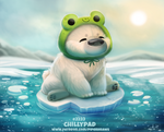 Daily Paint 2233. Chillypad