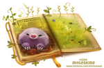 Daily Paint 2236. Moleskine