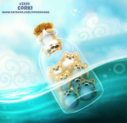 Daily Paint 2244. Corki by Cryptid-Creations