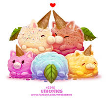 Daily Paint 2248. Unicones