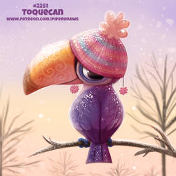 Daily Paint 2251. Toquecan by Cryptid-Creations