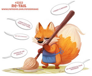 Daily Paint 2252. Re-Tail by Cryptid-Creations