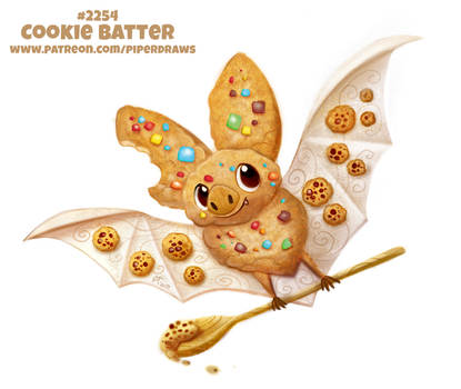 Daily Paint 2254. Cookie Batter