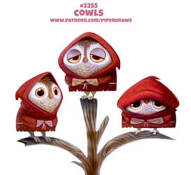 Daily Paint 2255. Cowls by Cryptid-Creations