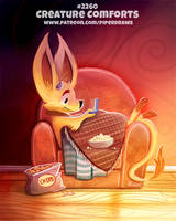 Daily Paint 2260. Creature Comforts by Cryptid-Creations
