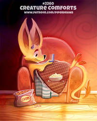 Daily Paint 2260. Creature Comforts