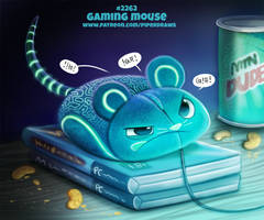Daily Paint 2262. Gaming Mouse