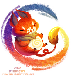Daily Paint 2268. Pigment by Cryptid-Creations