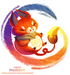 Daily Paint 2268. Pigment