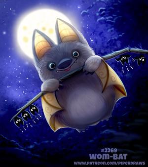 Daily Paint 2269. Wom-bat