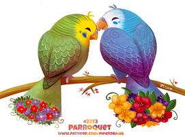 Daily Paint 2273. Parroquet