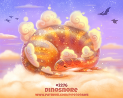 Daily Paint 2276. Dinosnore