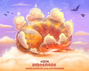 Daily Paint 2276. Dinosnore by Cryptid-Creations