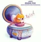 Daily Paint 2277. Music Fox