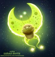 Daily Paint 2285. Lunar Moth
