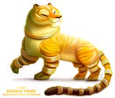 Daily Paint 2292. Bangle Tiger