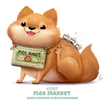 Daily Paint 2297. Flea Market