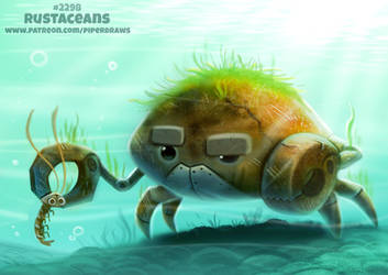 Daily Paint 2298. Rustaceans by Cryptid-Creations