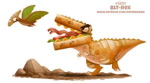 Daily Paint 2301. BLT-Rex