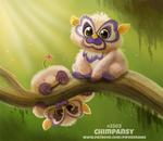Daily Paint 2303. Chimpansy