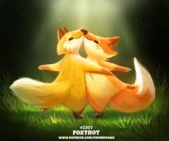 Daily Paint 2307. Foxtrot