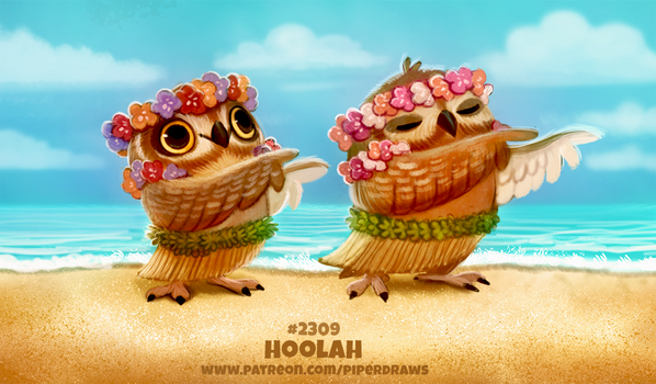 Daily Paint 2309. Hoola