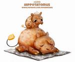 Daily Paint 2310. Hippotatomus