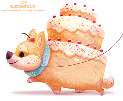 Daily Paint 2311. Cakewalk by Cryptid-Creations