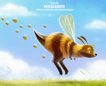 Daily Paint 2313. Wallabee