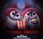 Daily Paint 2314. Chick Flick