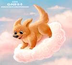 Daily Paint 2315. Cloud K-9
