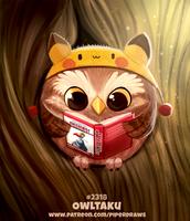 Daily Paint 2318. Owltaku