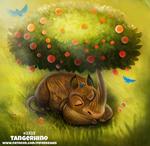 Daily Paint 2323. Tangerhino