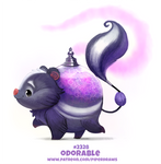 Daily Paint 2328. Odorable