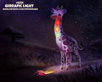 Daily Paint 2331. Girrafic Light