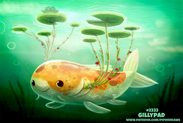 Daily Paint 2333. Gillypad by Cryptid-Creations