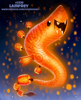 Daily Paint 2336. Lamprey