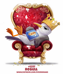 Daily Paint 2337. Regull by Cryptid-Creations