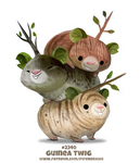 Daily Paint 2340. Guinea Twig