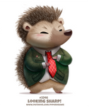 Daily Paint 2346. Looking Sharp!