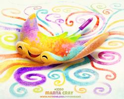 Daily Paint 2350. Manta Cray