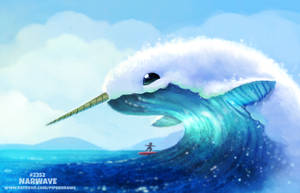 Daily Paint 2352. Narwave