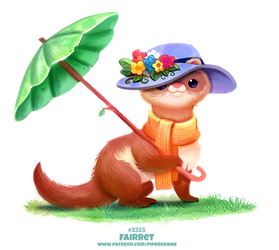 Daily Paint 2355. Fairret by Cryptid-Creations