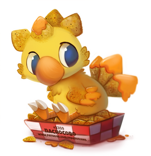 Daily Paint 2359. Nachocobo